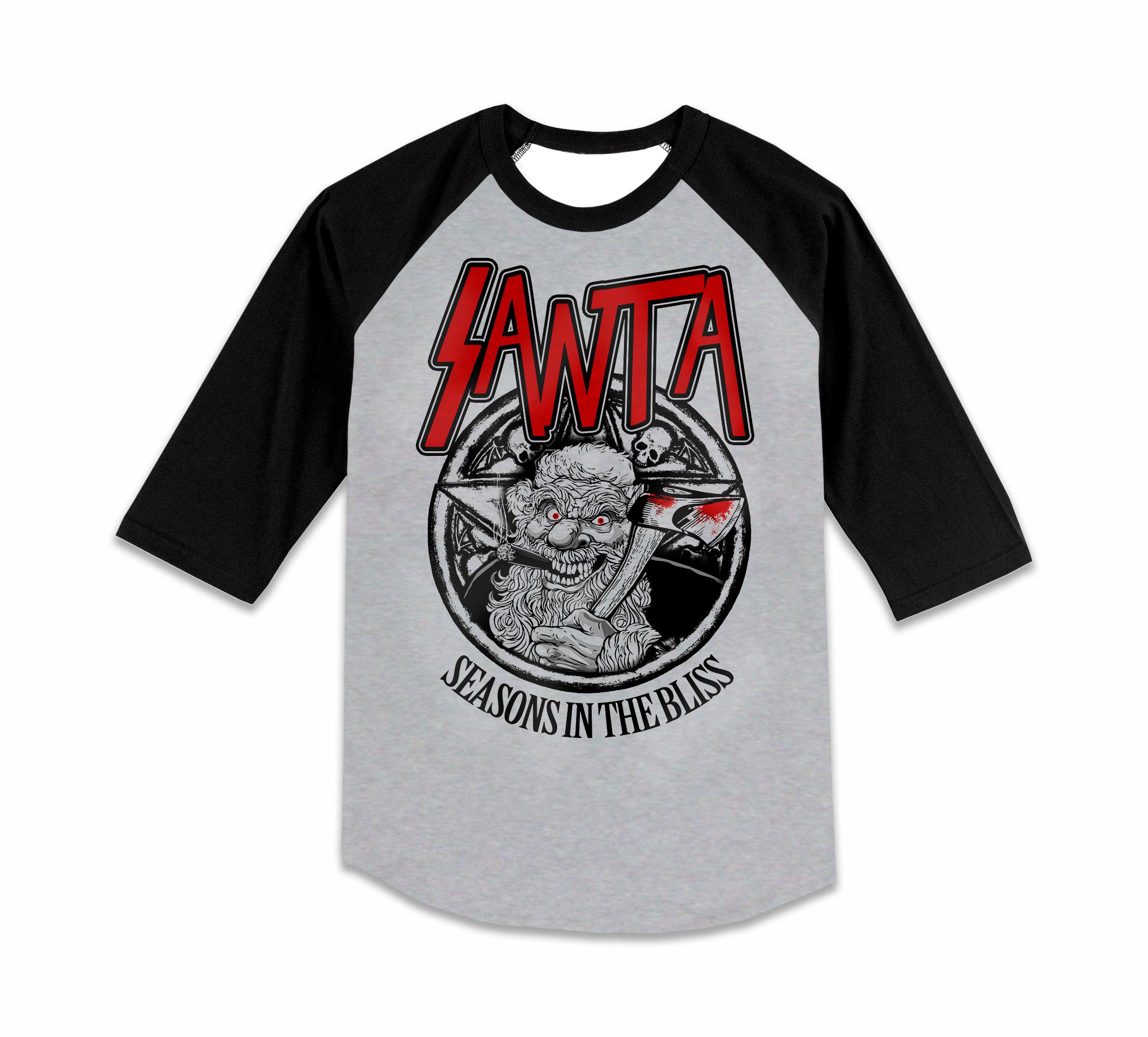 Black xmas t shirt - Prev