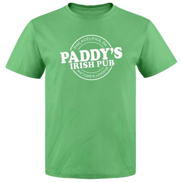 8c930fc378e Pins & Bones Men's St Patricks Day Paddy's Irish Pub Philly St Patty's  Theme Green T-Shirt
